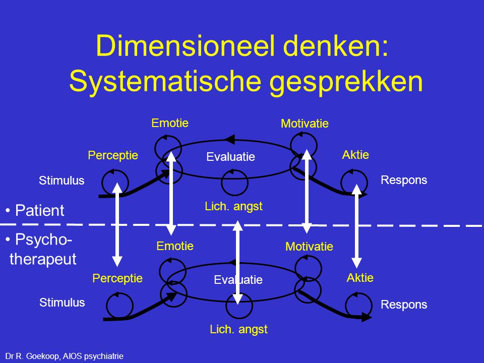 Dimensioneel denken: Systematische gesprekken