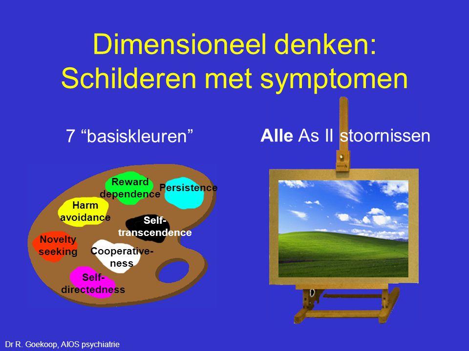 Dimensioneel denken: Schilderen met symptomen