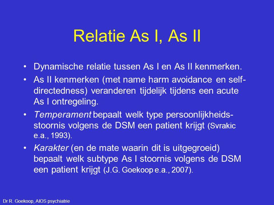 Dr R. Goekoop, AIOS psychiatrie