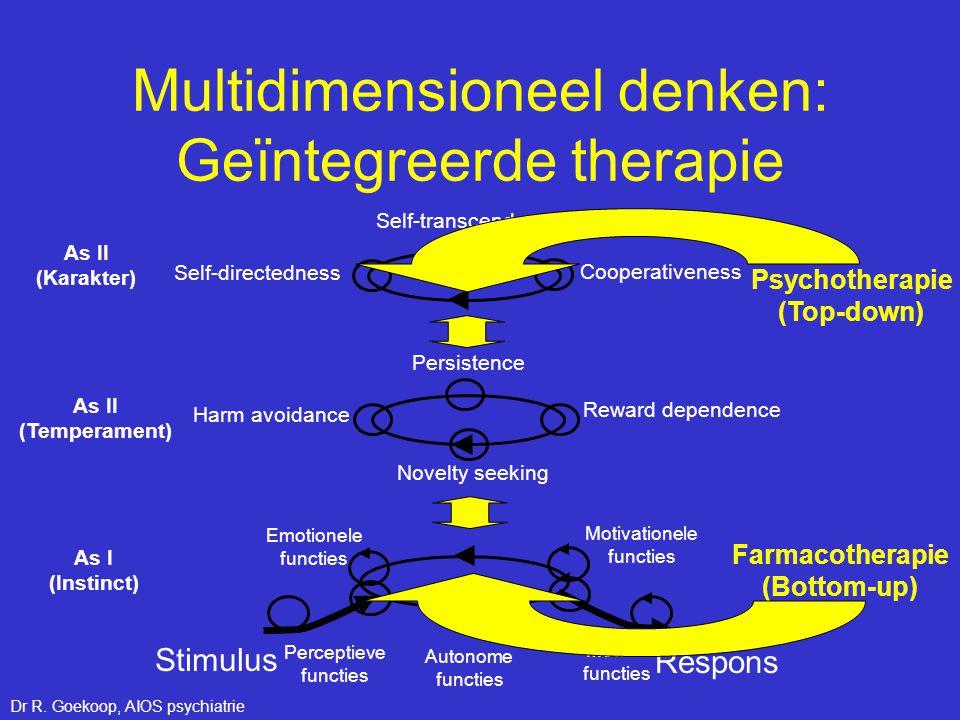 Multidimensioneel denken: Geïntegreerde therapie