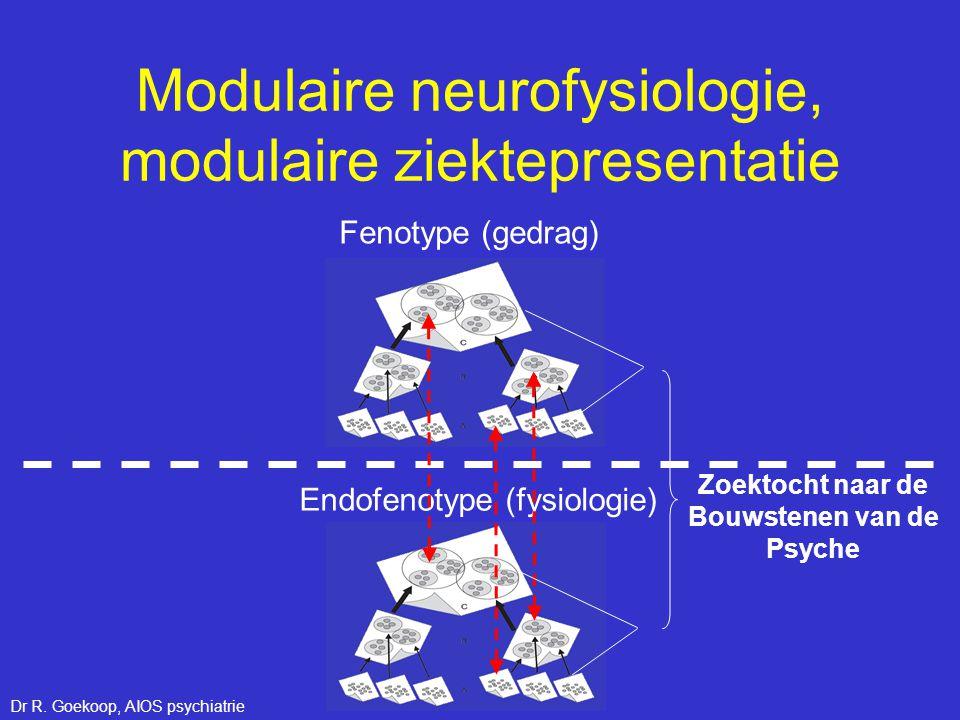 Modulaire neurofysiologie, modulaire ziektepresentatie