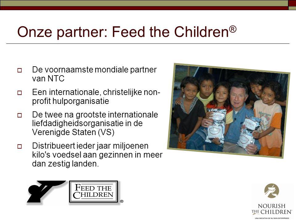 Onze partner: Feed the Children®