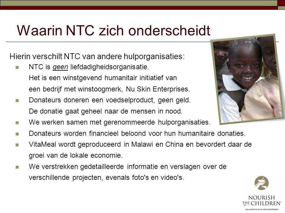 Waarin NTC zich onderscheidt