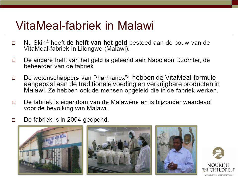 VitaMeal-fabriek in Malawi