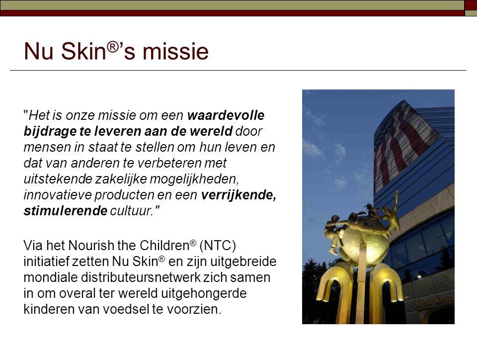 Nu Skin®'s missie