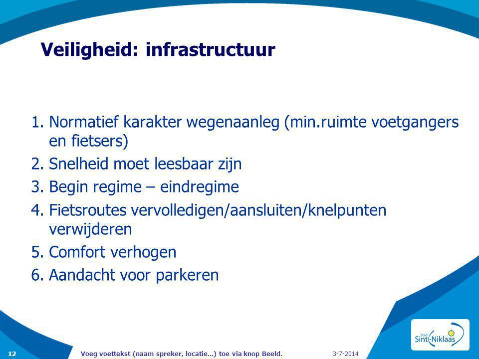 Veiligheid: infrastructuur