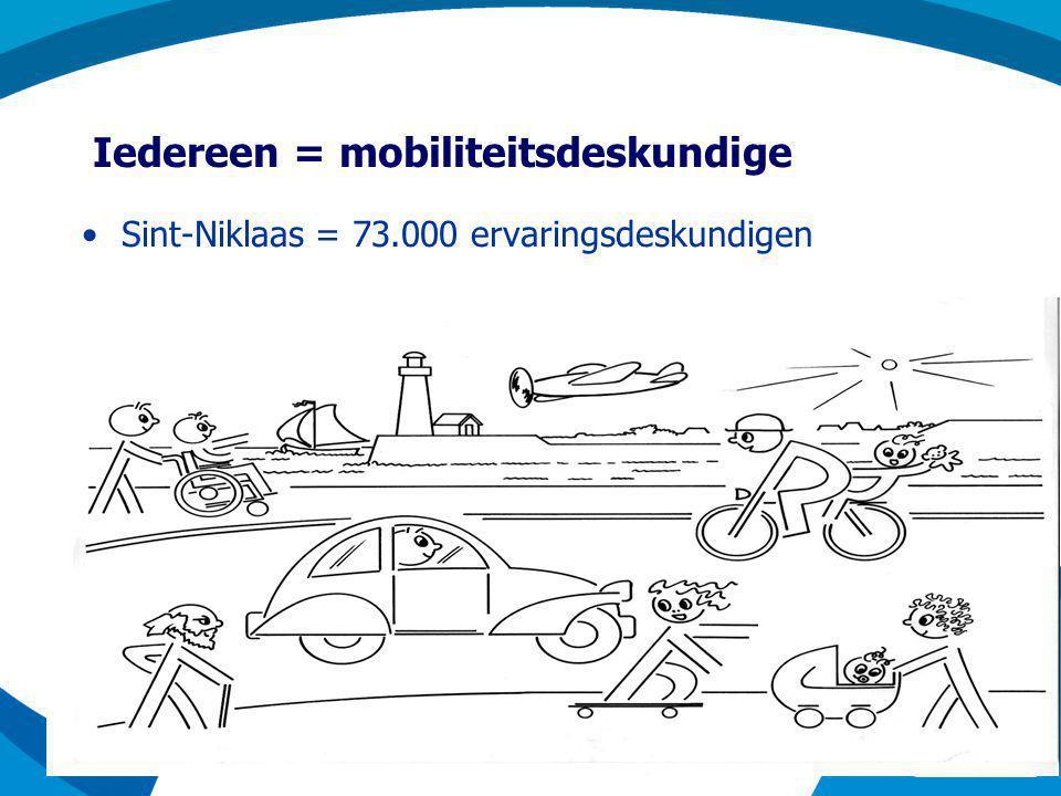 Iedereen = mobiliteitsdeskundige