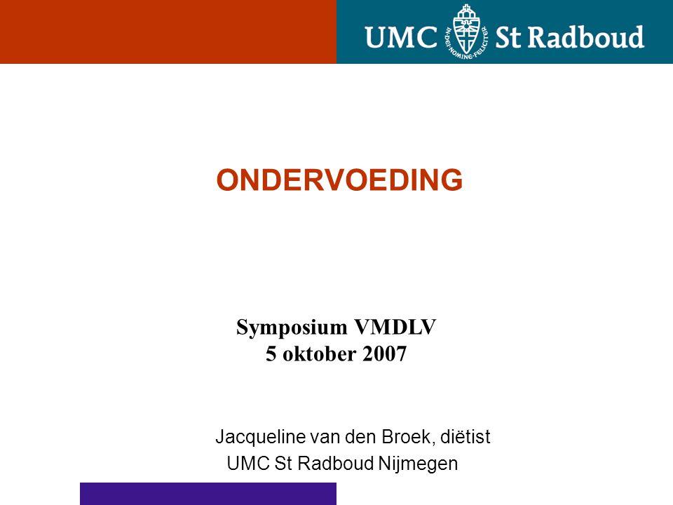 Jacqueline van den Broek, diëtist UMC St Radboud Nijmegen
