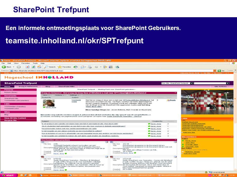 teamsite.inholland.nl/okr/SPTrefpunt