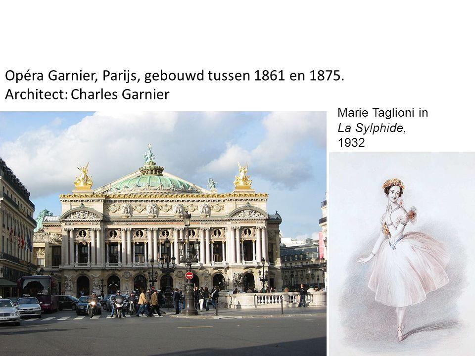 Opéra Garnier, Parijs, gebouwd tussen 1861 en 1875.