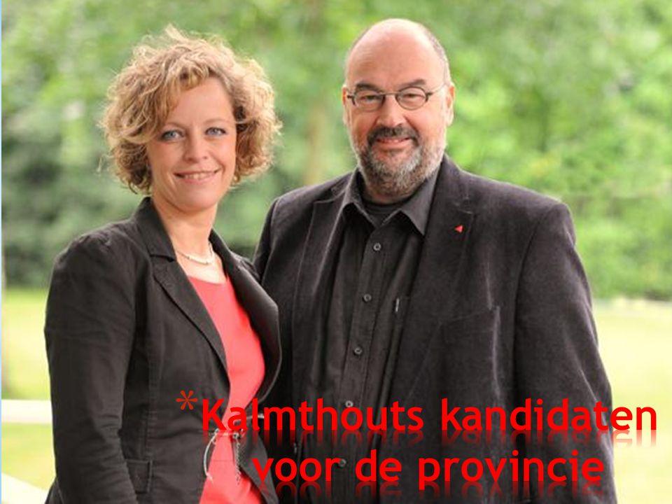 Kalmthouts kandidaten voor de provincie