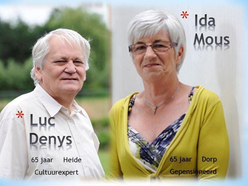 Ida Mous Luc Denys 65 jaar Dorp 65 jaar Heide Gepensioneerd