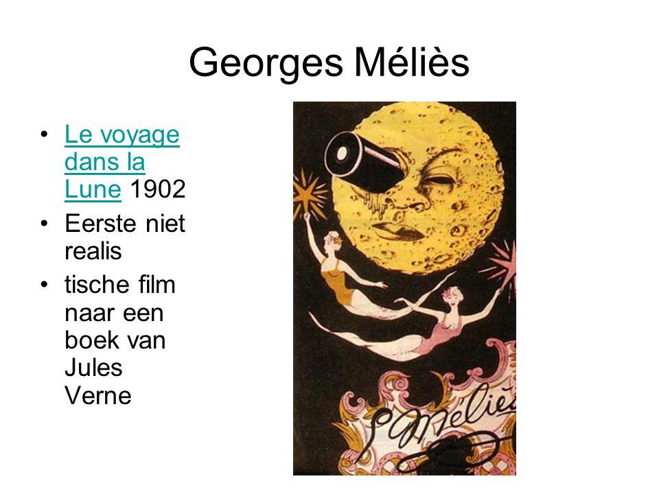 Georges Méliès Le voyage dans la Lune 1902 Eerste niet realis