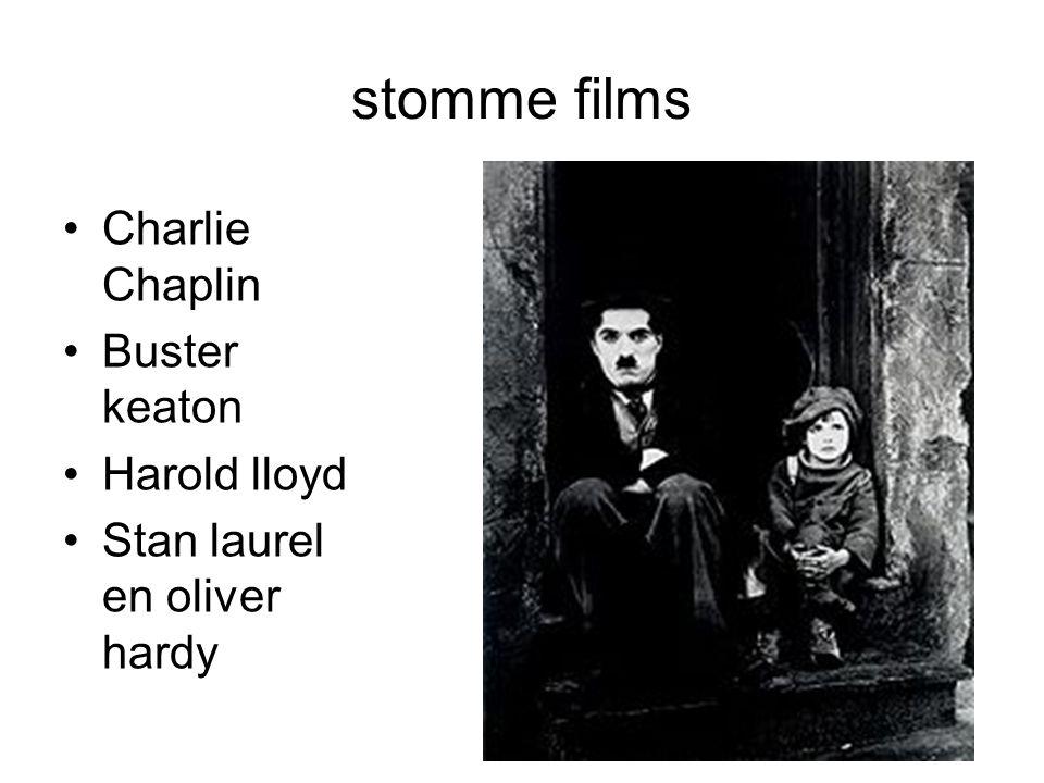 stomme films Charlie Chaplin Buster keaton Harold lloyd