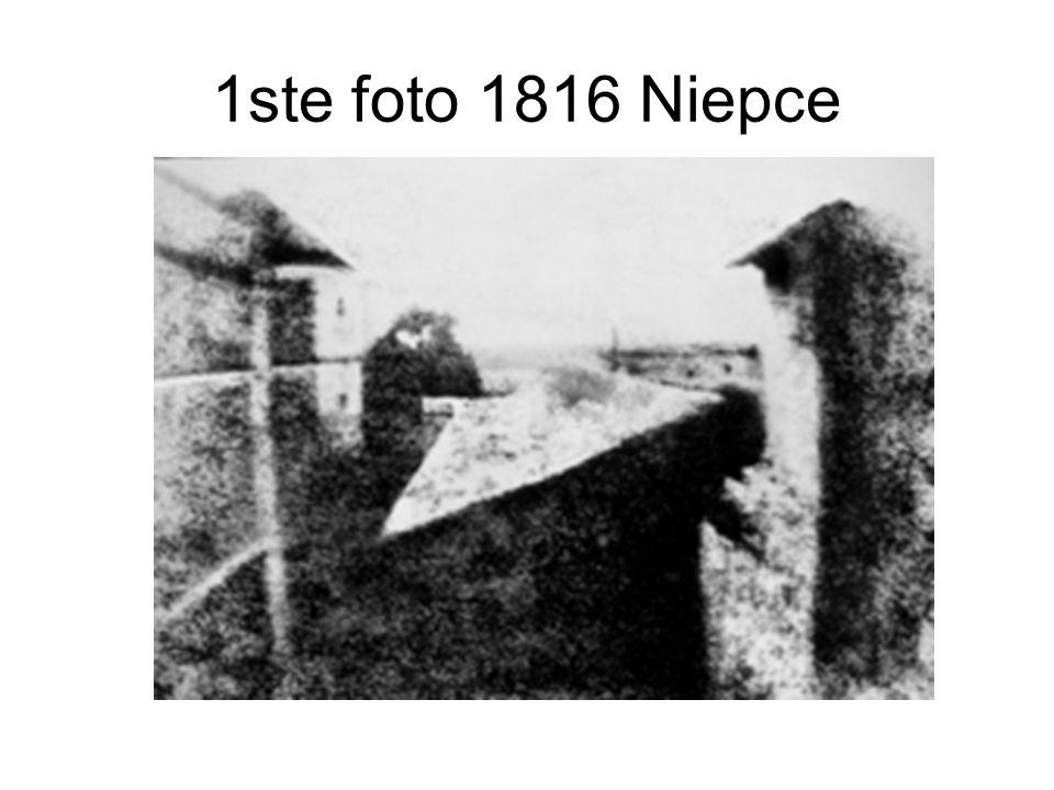 1ste foto 1816 Niepce