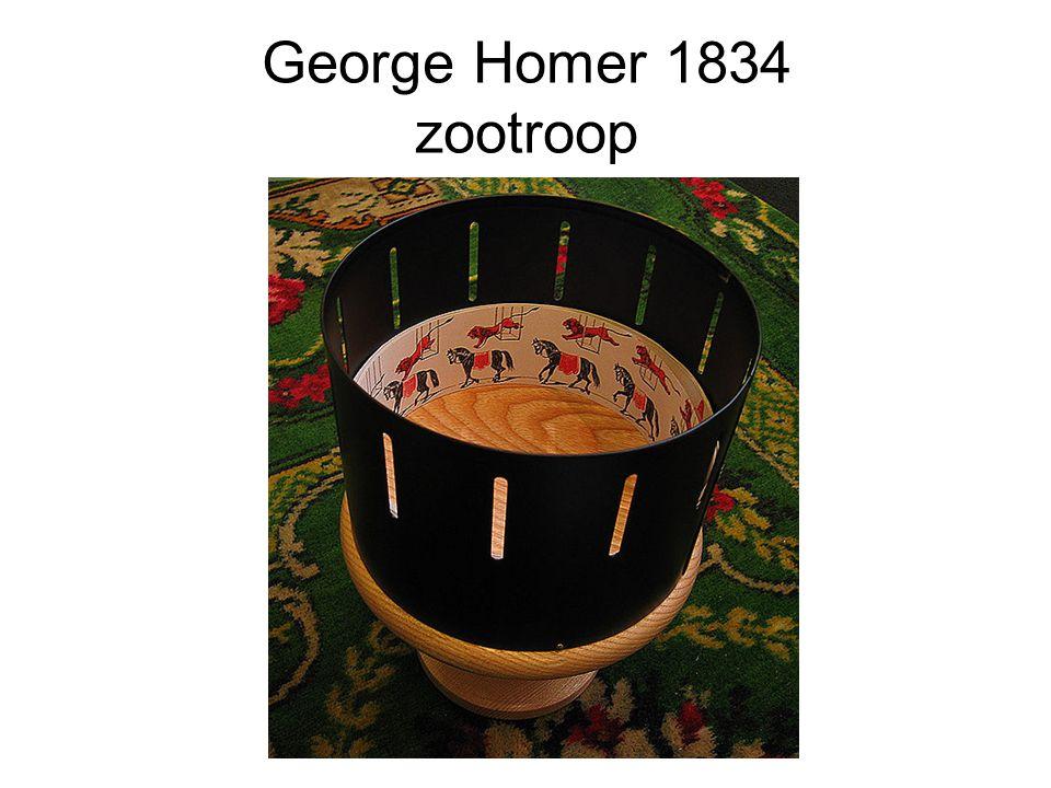 George Homer 1834 zootroop