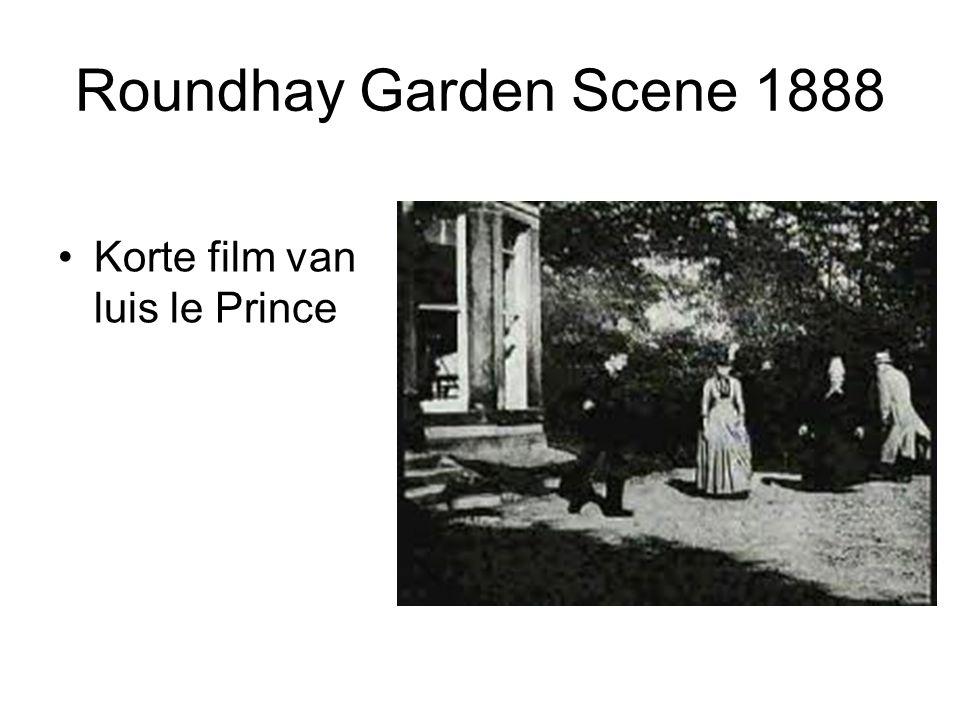 Roundhay Garden Scene 1888 Korte film van luis le Prince