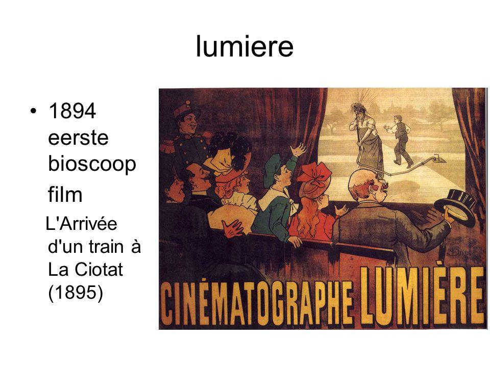 lumiere 1894 eerste bioscoop film