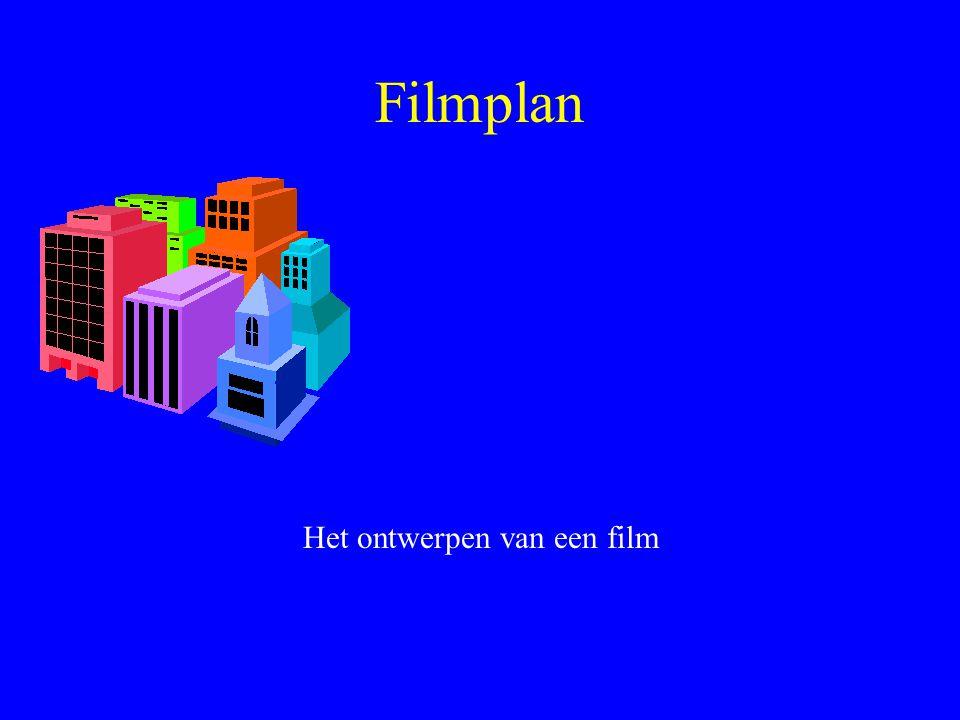 Het ontwerpen van een film