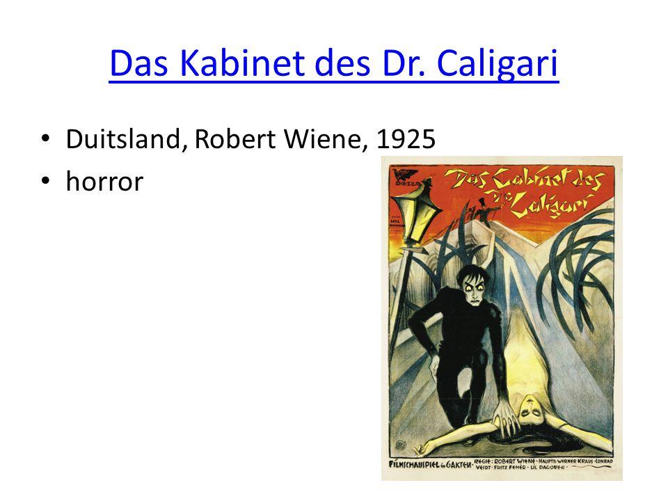 Das Kabinet des Dr. Caligari