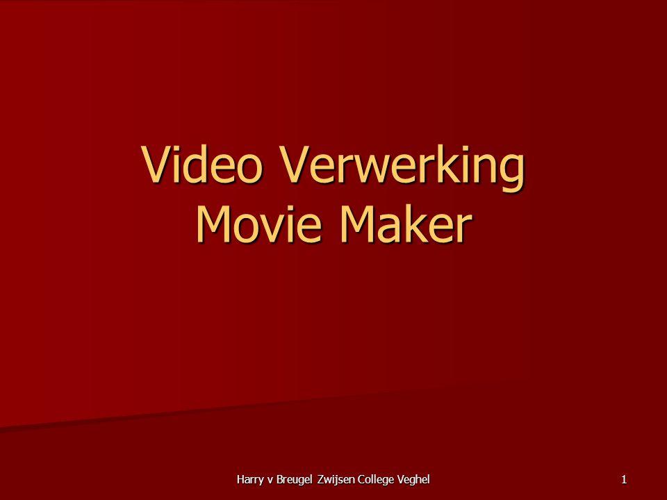 Video Verwerking Movie Maker