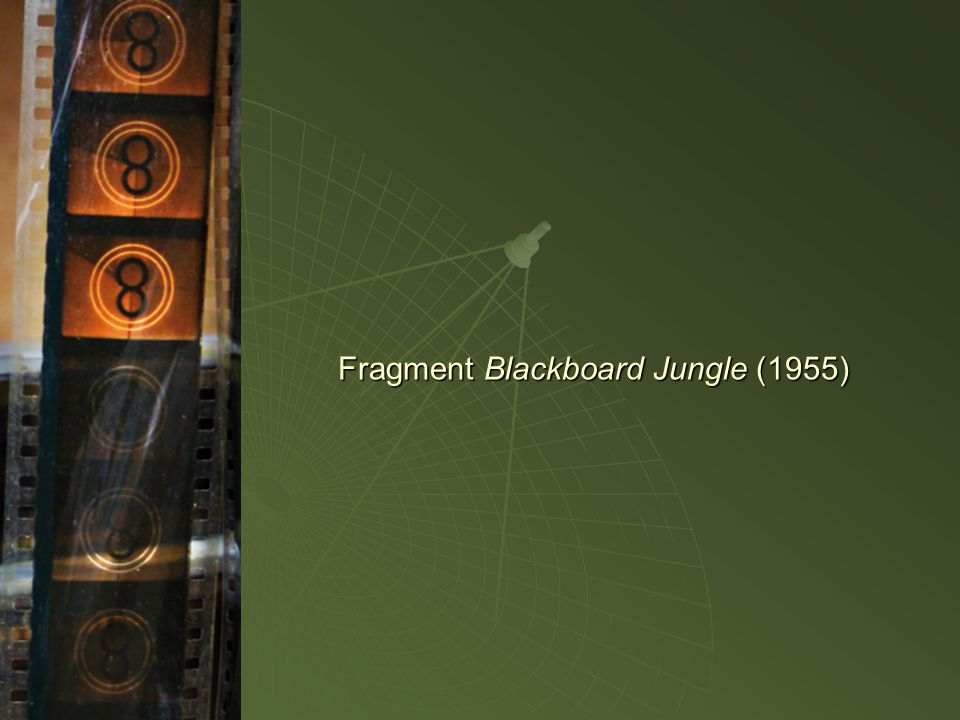 Fragment Blackboard Jungle (1955)