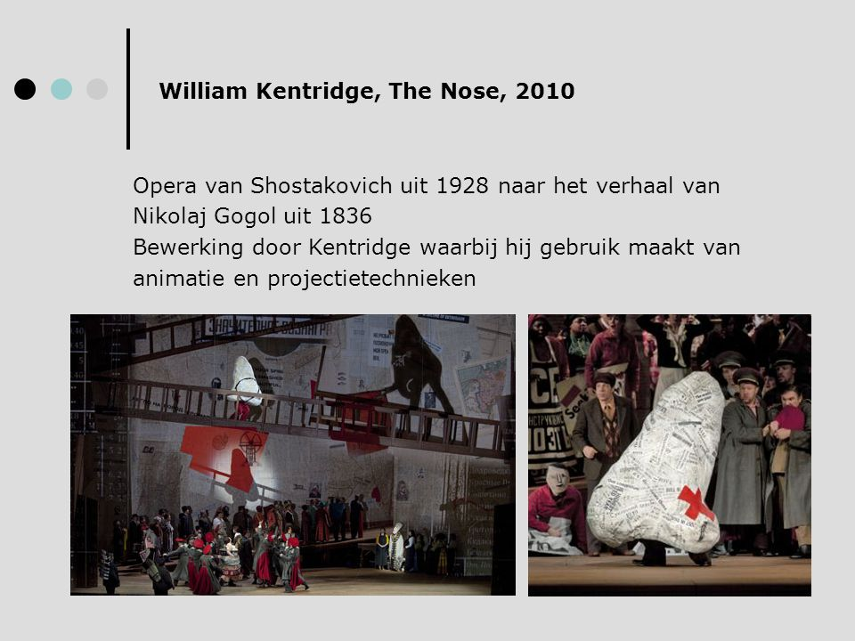William Kentridge, The Nose, 2010