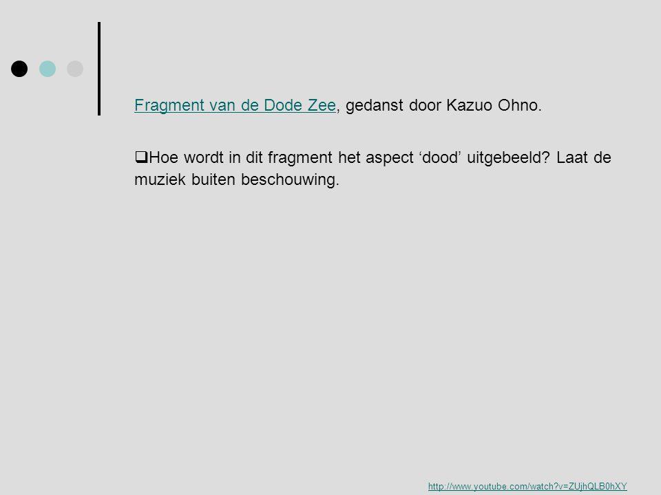 Fragment van de Dode Zee, gedanst door Kazuo Ohno.