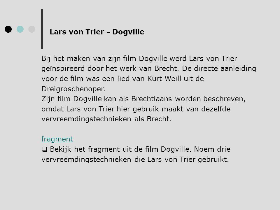 Lars von Trier - Dogville