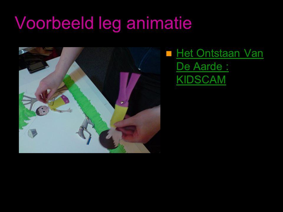 Voorbeeld leg animatie