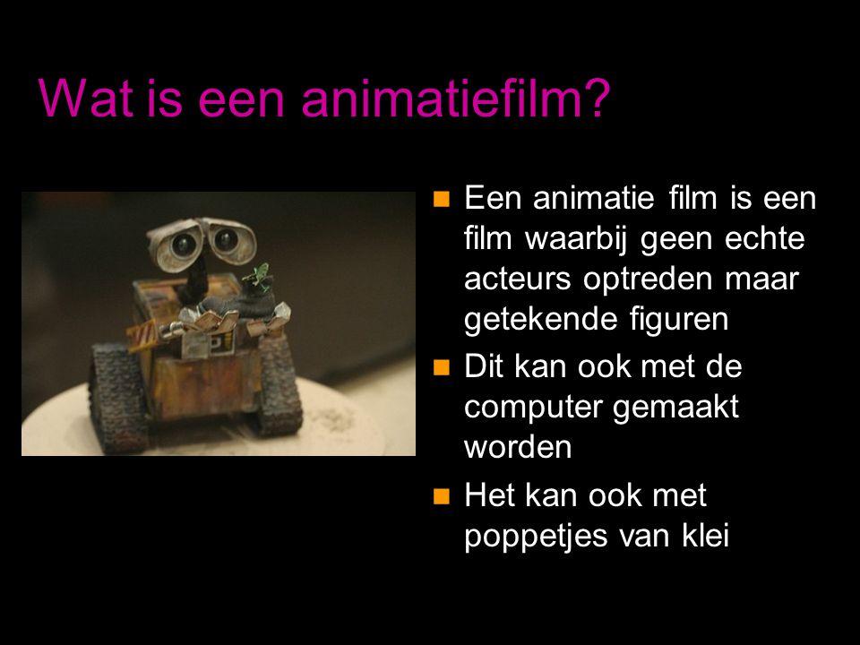 Wat is een animatiefilm