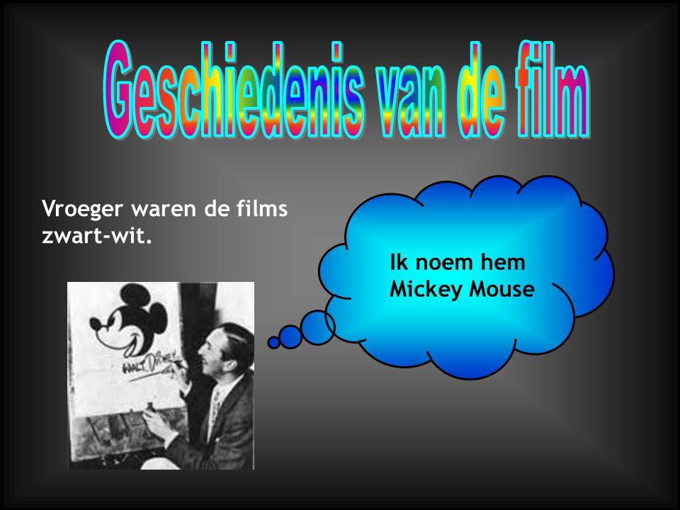 Geschiedenis van de film