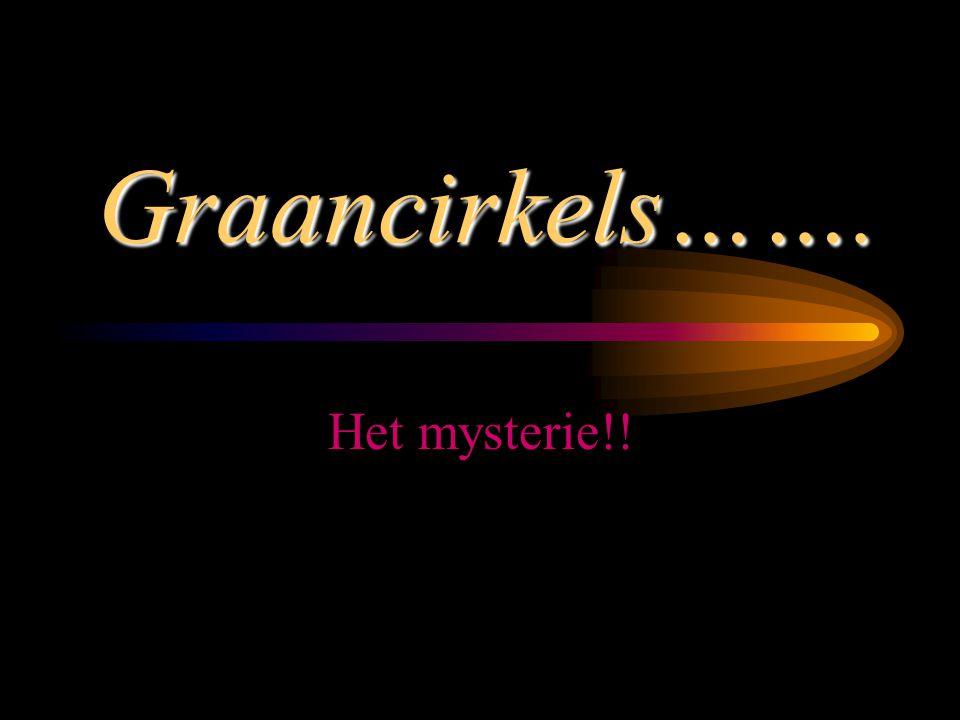 Graancirkels……. Het mysterie!!