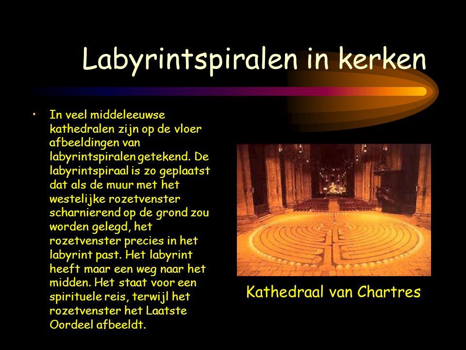 Labyrintspiralen in kerken