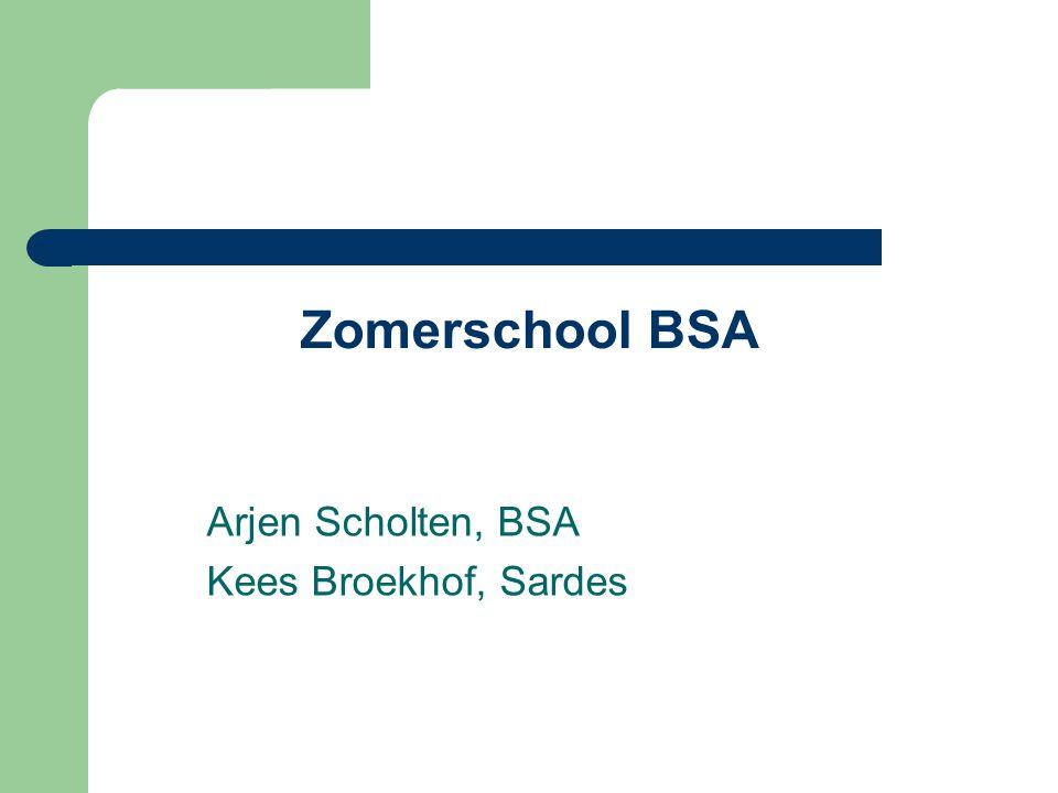 Arjen Scholten, BSA Kees Broekhof, Sardes