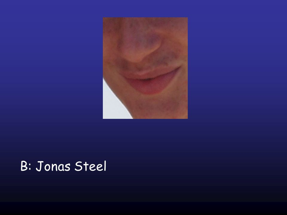 B: Jonas Steel