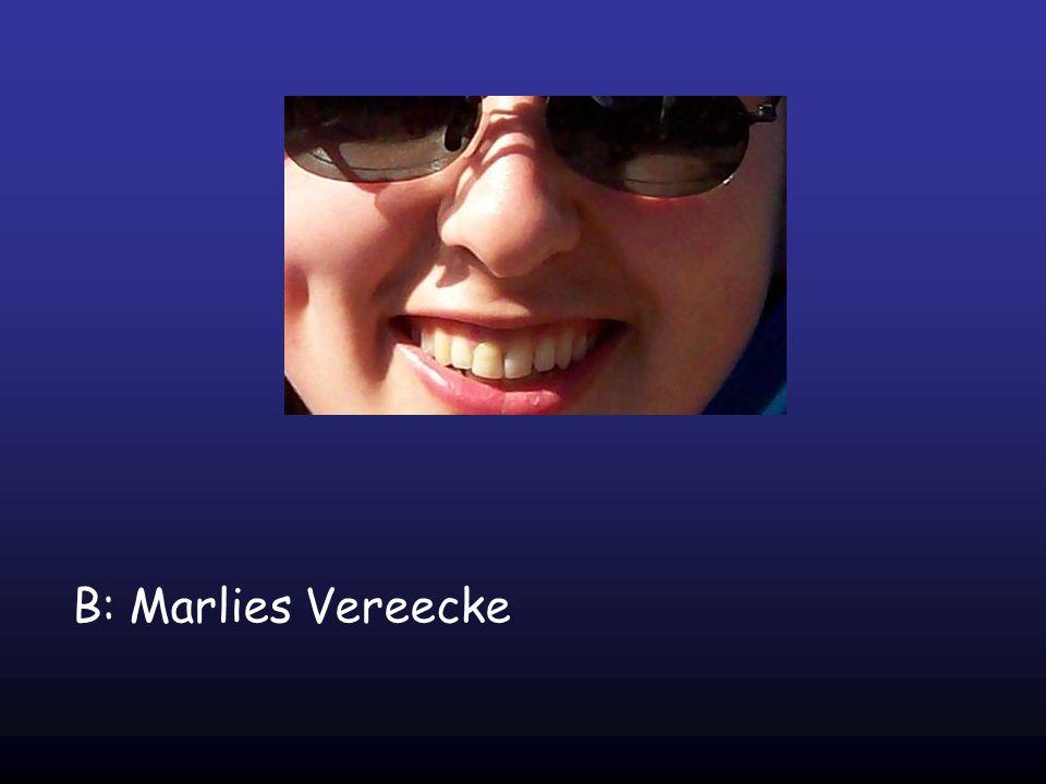 B: Marlies Vereecke