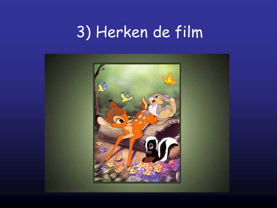 3) Herken de film
