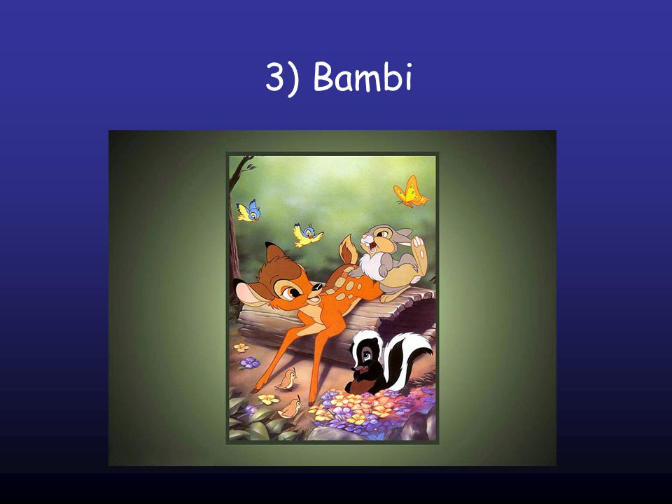 3) Bambi