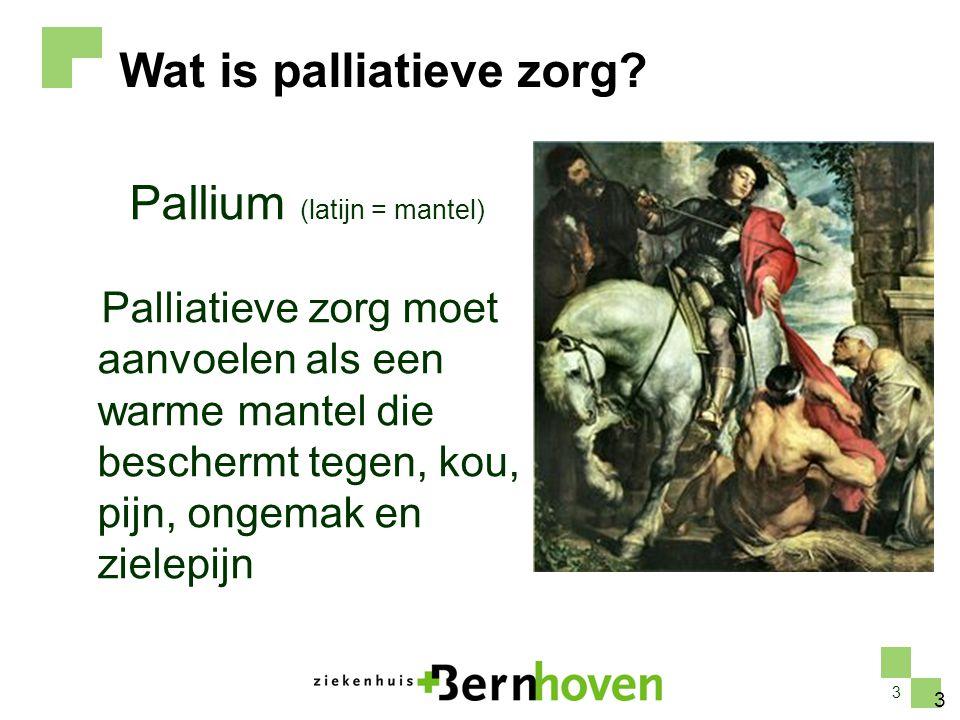 Pallium (latijn = mantel)