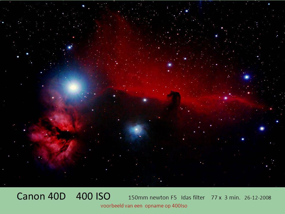 Canon 40D 400 ISO 150mm newton F5 Idas filter 77 x 3 min