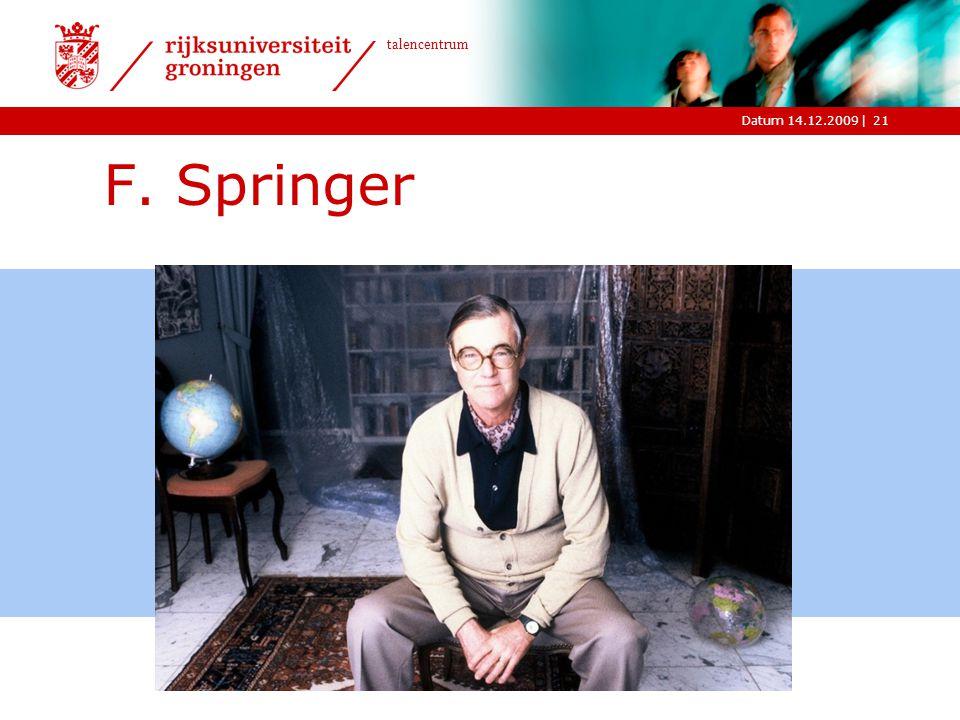 F. Springer