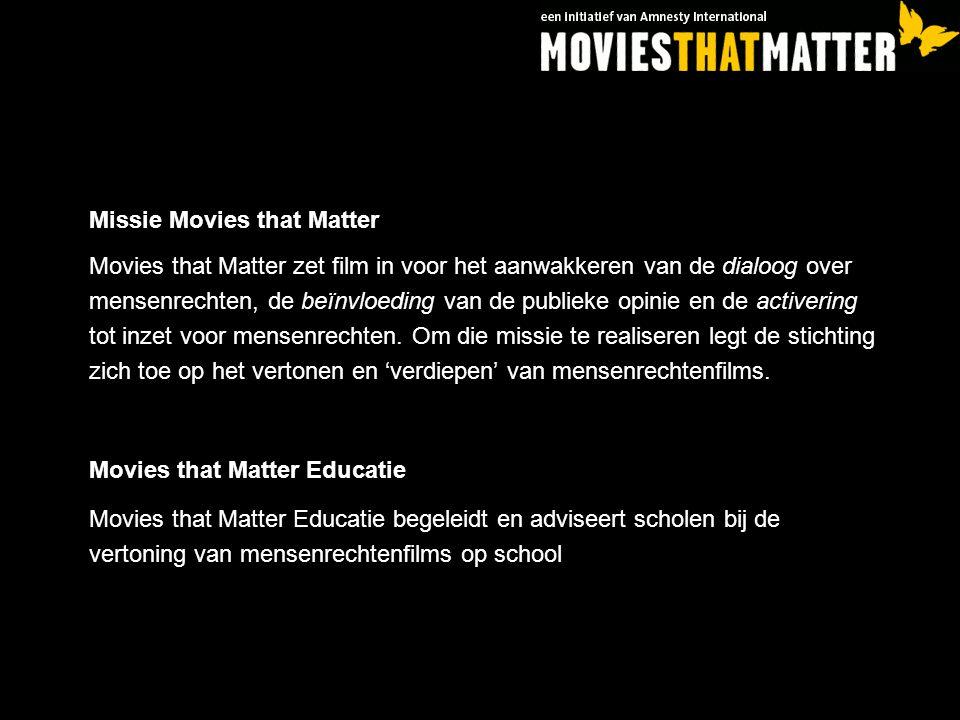Missie Movies that Matter