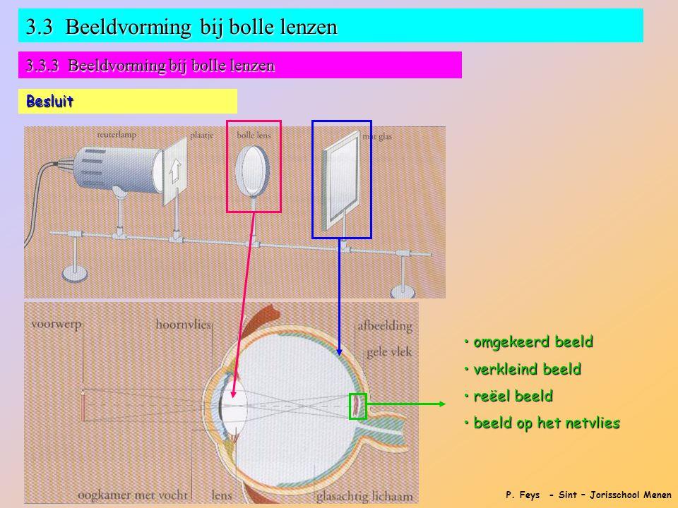 3.3 Beeldvorming bij bolle lenzen