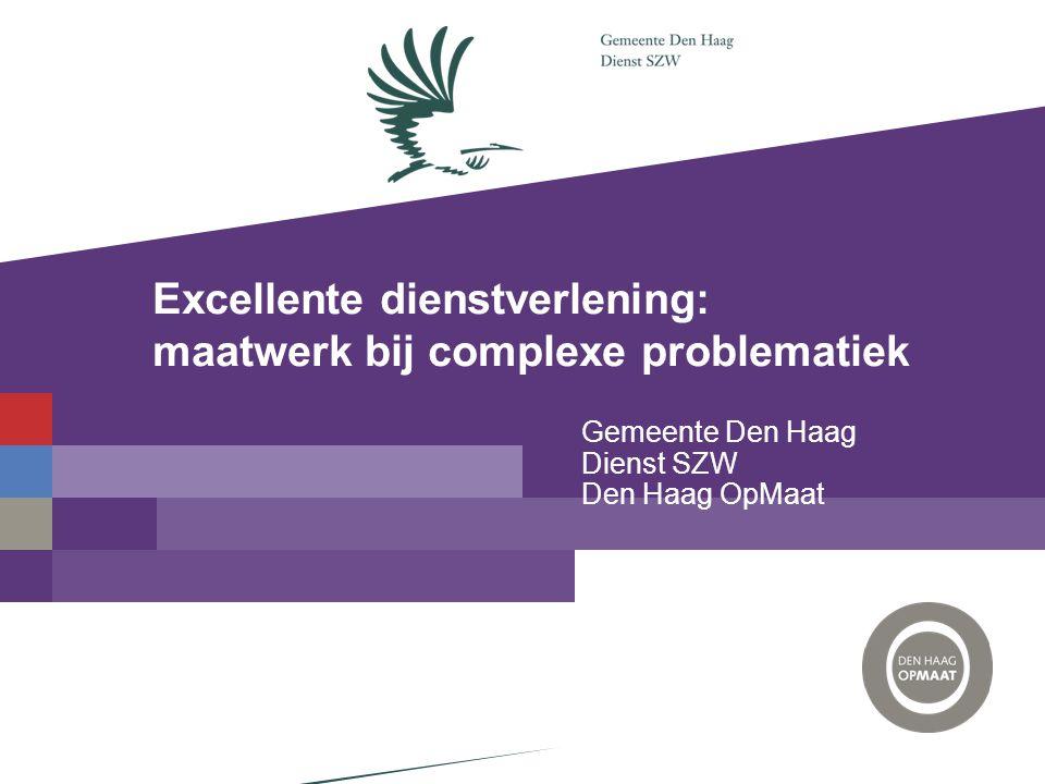 Excellente dienstverlening: maatwerk bij complexe problematiek
