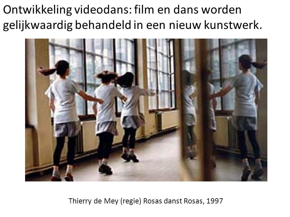 Thierry de Mey (regie) Rosas danst Rosas, 1997