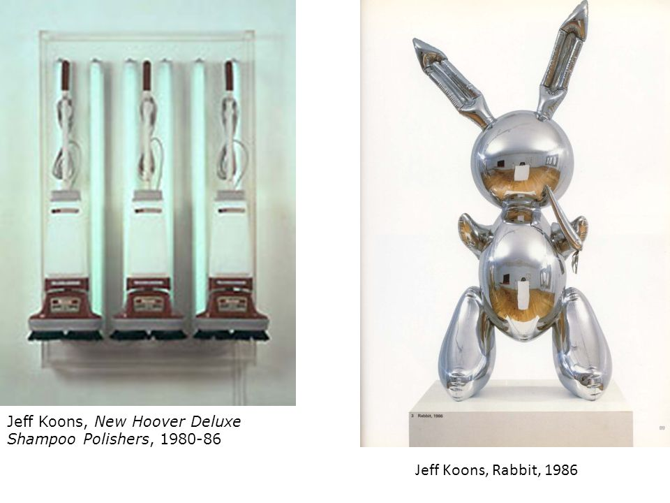 Jeff Koons, New Hoover Deluxe Shampoo Polishers, 1980-86
