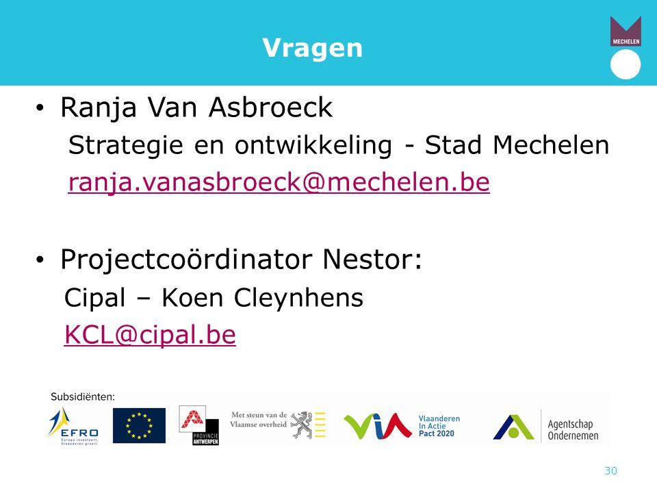 Projectcoördinator Nestor: