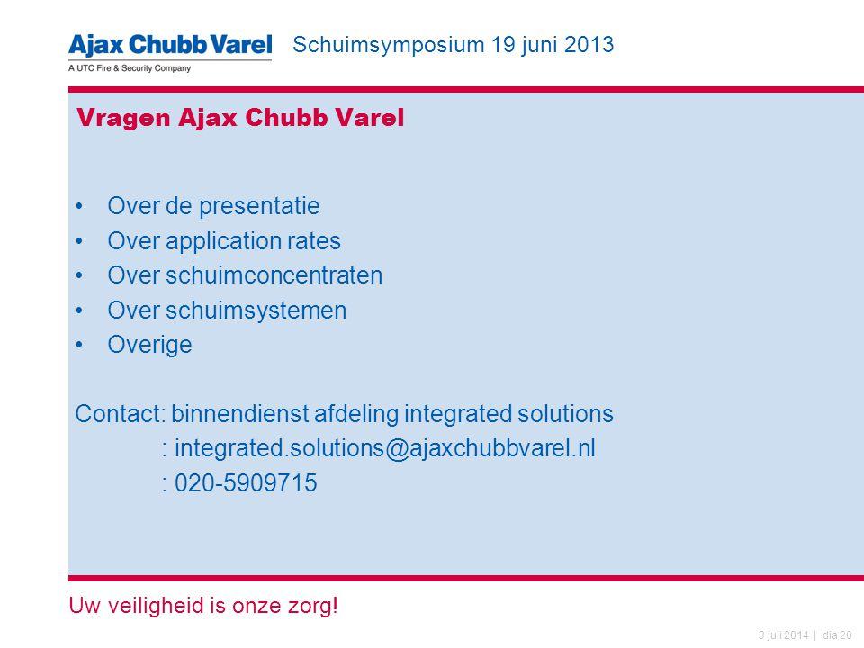 Vragen Ajax Chubb Varel