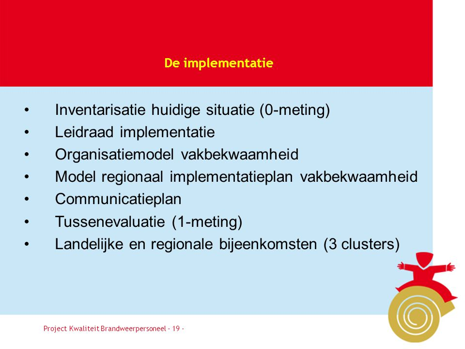 Inventarisatie huidige situatie (0-meting) Leidraad implementatie